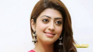 Actress Pranitha's narrow escape in accident