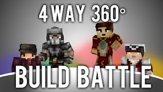 4 way, 360° Degree, Minecraft Build Battle