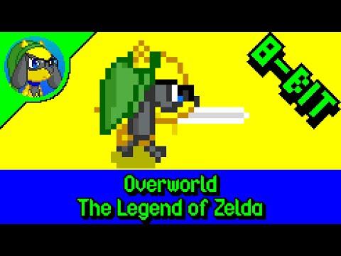 [8-Bit Cover] Overworld   The Legend of Zelda
