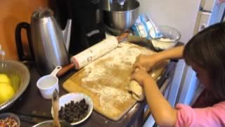 Miriam's Chocolate Chip Raisin Loaf