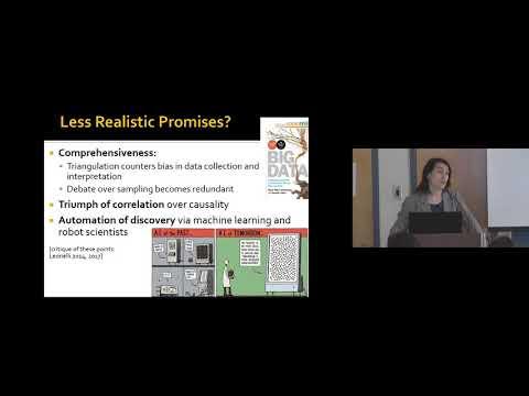 The Epistemology of Data Use: Sabina Leonelli ALS, Dec. 1, 2017