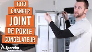 Comment changer le joint de porte de votre congélateur