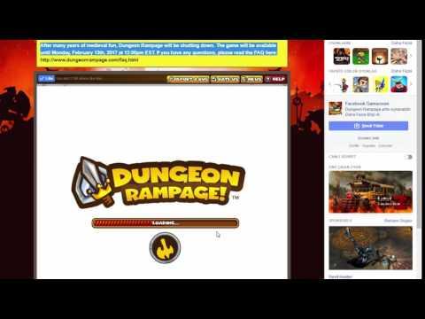 DUNGEON RAMPAGE KAPANIYOR !!! (13 ŞUBAT)