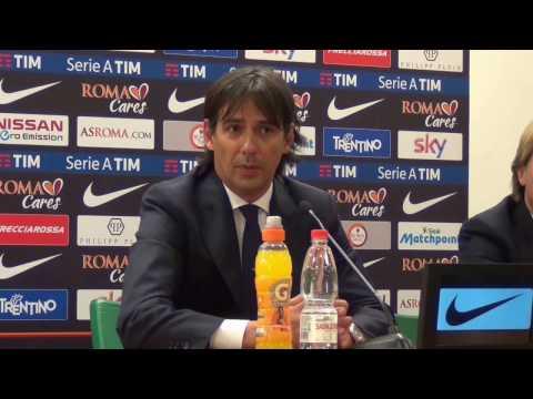 Roma-Lazio 1-3, Simone Inzaghi: «Vittoria meritata»