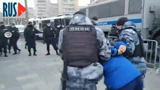 ⭕️ Задержания у посольства Франции в Москве