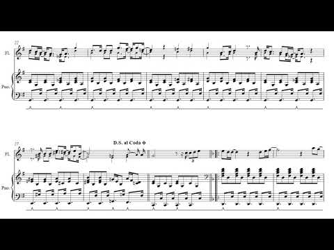 Genesis  Afterglow  Full Flute & Piano Score