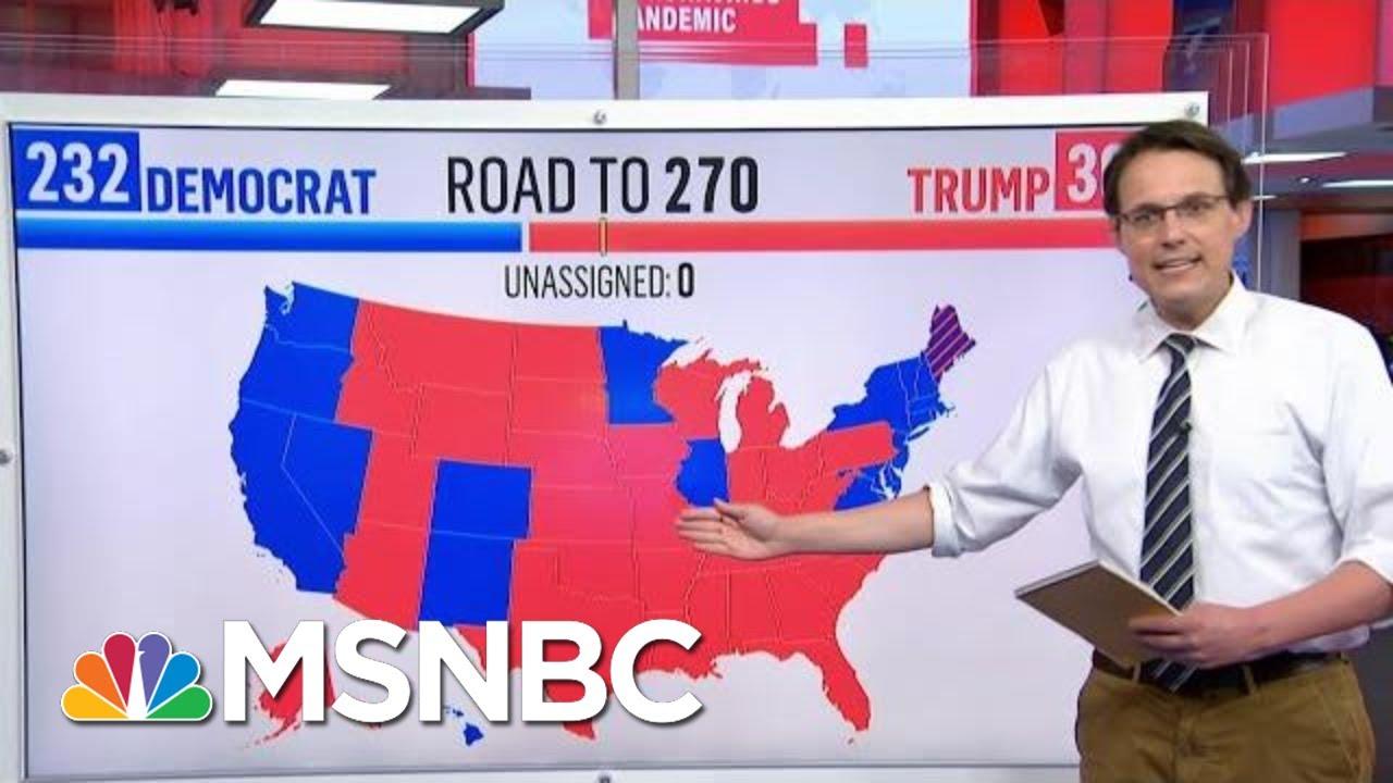 Kornacki Breaks Down Joe Biden's Potential Paths To 270 Electoral Votes   MTP Daily   MSNBC