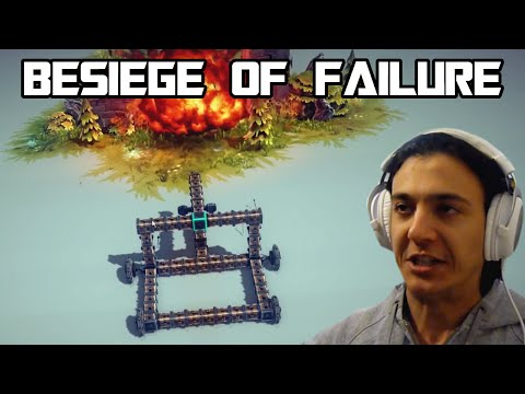 "BESIEGE OF FAILURE 2... ""Famous PHALLIC DESTRUCTION TOOL!!!"""