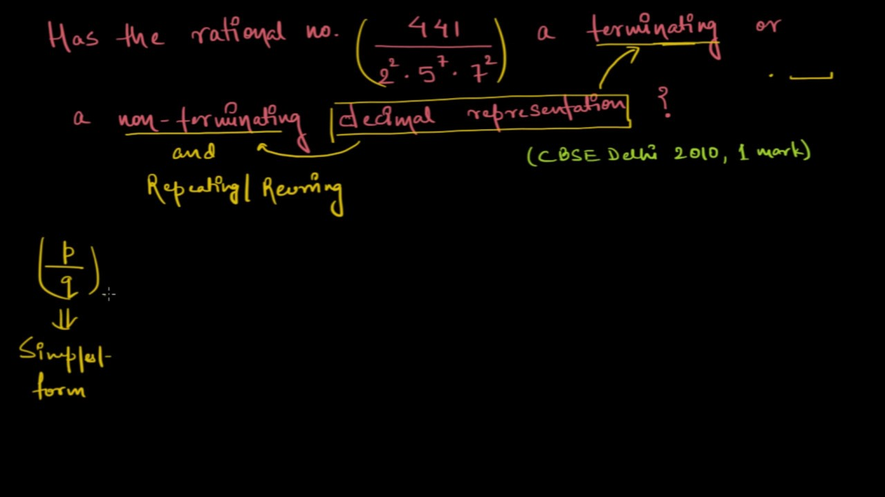 simplest form khan academy  Previous year question 8 | Real Numbers | Class 8 math (Hindi) | Khan  Academy