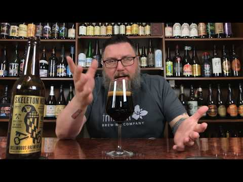 Massive Beer Reviews 1341 Bellwoods Brewing Skeleton Key Rum Barrel Aged Spiced Imperial Stout