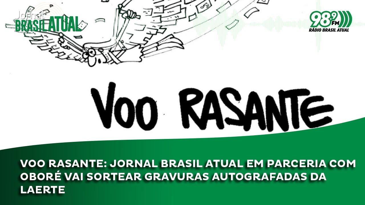 Voo Rasante: Jornal Brasil Atual em parceria com Oboré vai sortear gravuras autografadas da Laerte