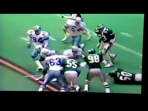 Herschel Walker 84yd TD run vs. Eagles 1986