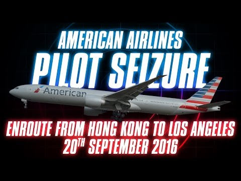 American Airlines: Pilot Seizure [with ATC audio]