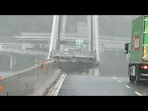 Genova, Ponte Morandi Crollo in diretta, VIDEO shock