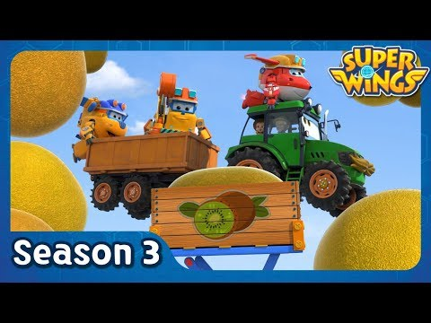 Kiwifruit Catastrophe | Super Wings Season 3 | EP40