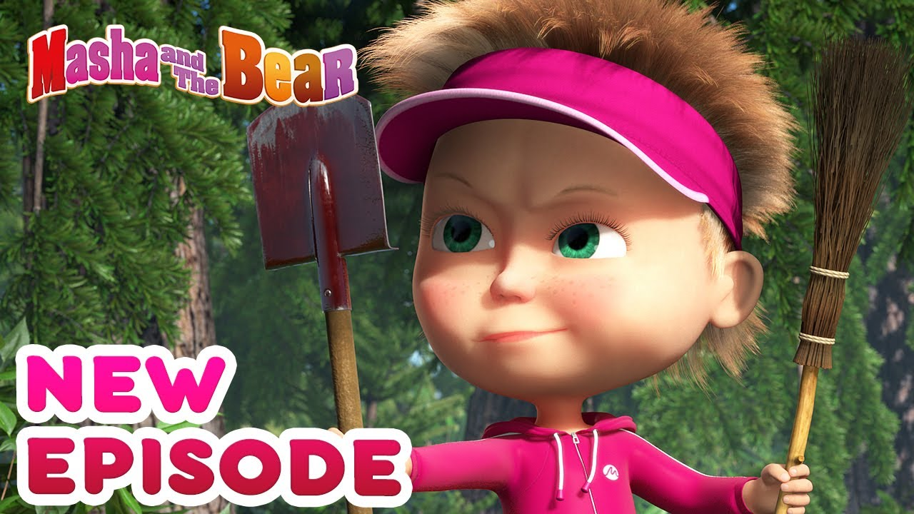 Masha and the Bear ?? NEW EPISODE! ?? Best cartoon collection ⛳ Tee for three