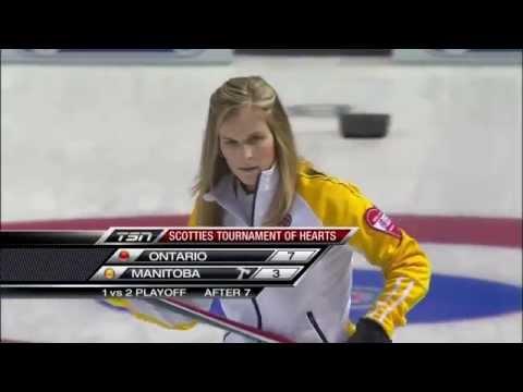 2013 Scotties Tournament Of Hearts - Homan (ON) vs. Jones (MB) - Page 1 vs 2