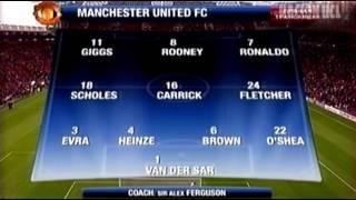 Manchester United vs AC Milan 3-2 - UCL 2006/2007 ida