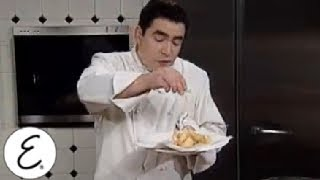 Beer Battered Shrimp With A Jalapeno Tartar Sauce - Emeril Lagasse