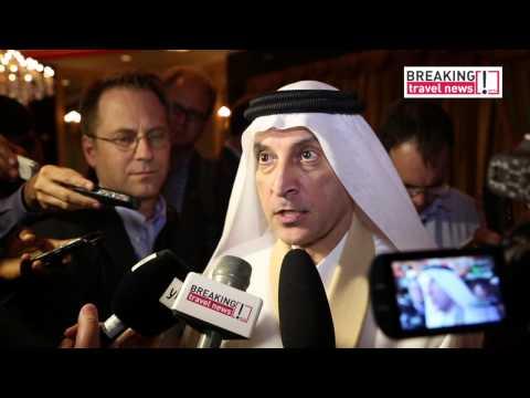 Akbar Al Baker, CEO, Qatar Airways   closing media conference 70th IATA AGM