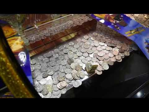Выигрыш наличными от толкателя монет CLAW KICKER!!!