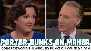 Katie Porter Hilariously Dunks On Bill Maher AND Joe Biden