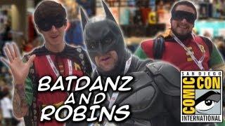 BatDanz and Robins (SDCC 2013) CCM13