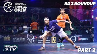 Squash: El Gouna International 2019 - Men\'s Rd 2 Round Up [Pt.2]