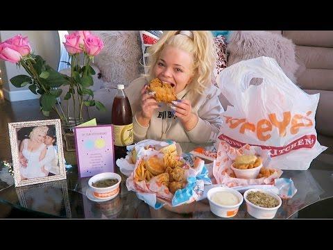 Popeyes Fried Chicken Eating Show (MUKBANG) | WATCH ME EAT