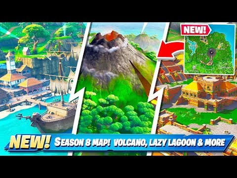 SEASON 8 MAP CHANGES in Fortnite! NEW MAP! thumbnail