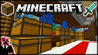 I MADE A BEAUTIFUL MINECRAFT STORAGE ROOM! | Let's Play Minecraft Survival | Episode 16