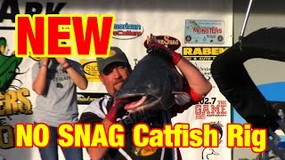 "NEW ""No Snag"" Catfish Rig: The Dragon Tail Catfish Rig"