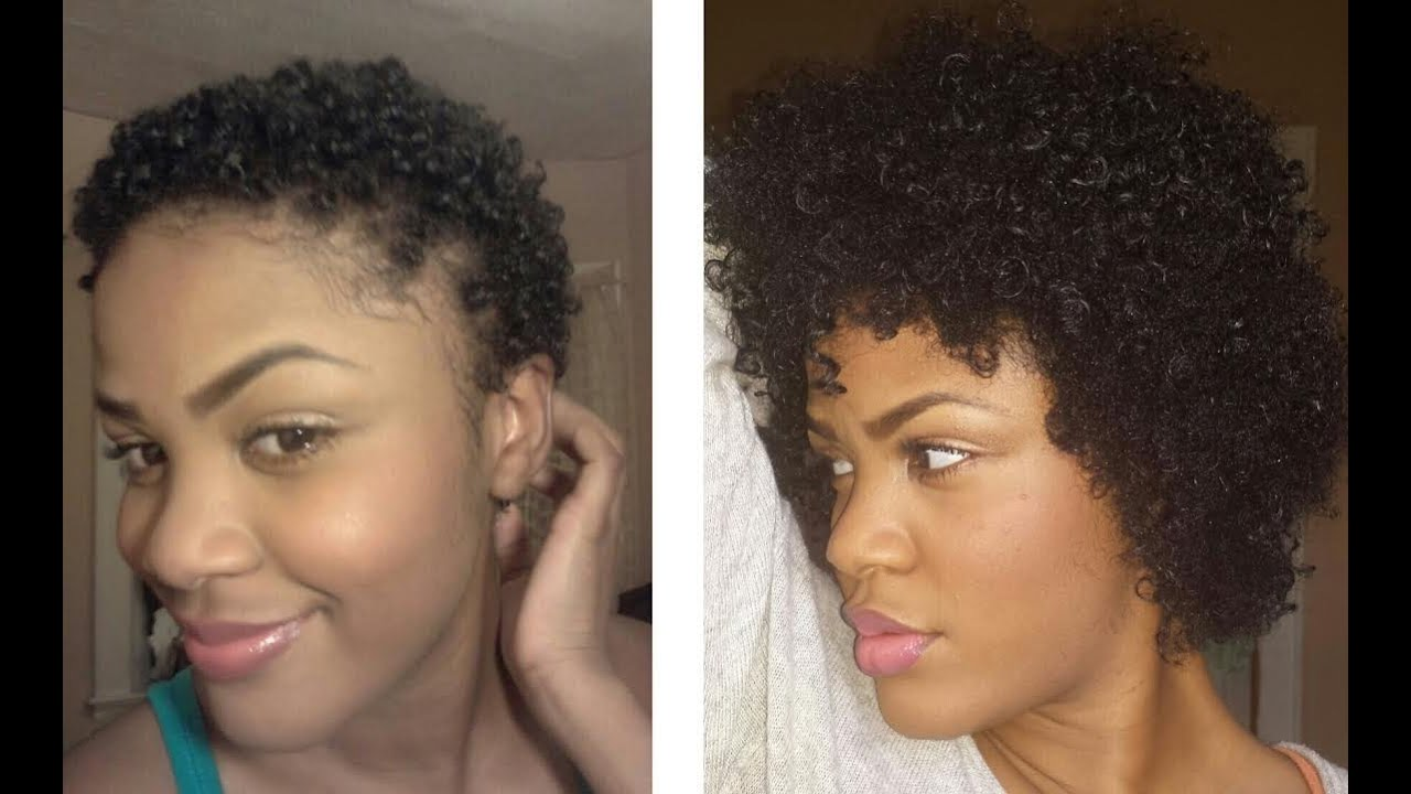 Fast Growth One Year Natural Type 4a 4b 4c Hair Youtube