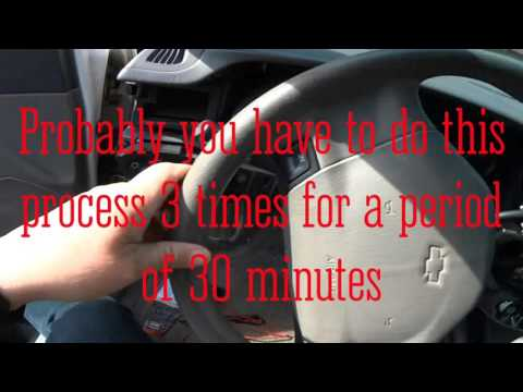 How To Do A Byp On Pkey Iii 03 Chevy Impala Anti Theft System