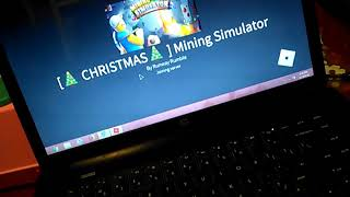 Christmas 🎄 codes on mining simulator Roblox