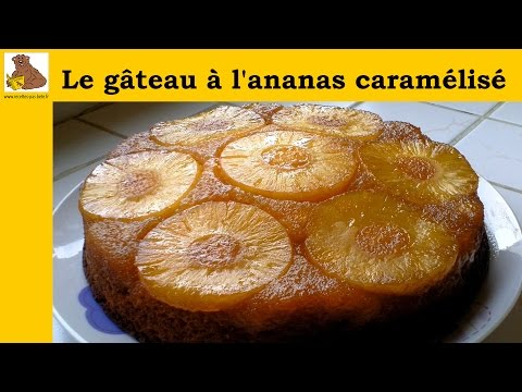 le-gâteau-à-l'ananas-caramélisé-(recette-rapide-et-facile)-hd