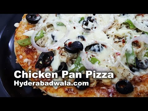 How to Make Chicken Pizza on Pan