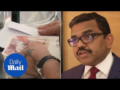 Rush to exchange money in Abu Dhabi after British Pound falls - Daily Mail