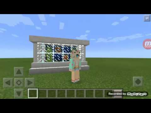 How to make a fish tank in minecraft pe youtube for How to fish in minecraft pe