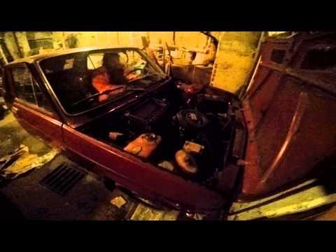 Zastava 1100 old school car discharged battery