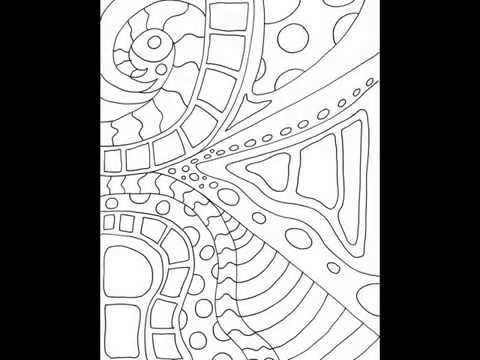 Simple Designs II Coloring Book For Adults