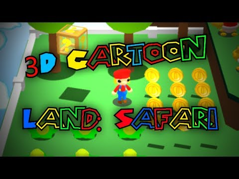 HORRIBLE MARIO RIPOFF? 3D Cartoon Land Safari!