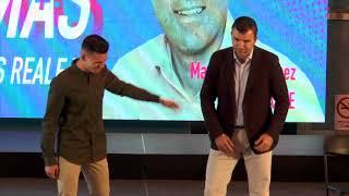 Presentación de la plancha de Manuel Domínguez, Los Realejos