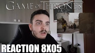 Jaime e Cersei!! - Game of Thrones 8x05 - Reaction ITA