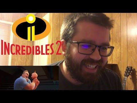 Incredibles 2 Official Teaser Trailer Reaction!