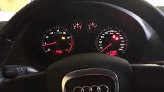 audi a3 1 6 fsi 2008 75kw 102hp full gas with heated engine