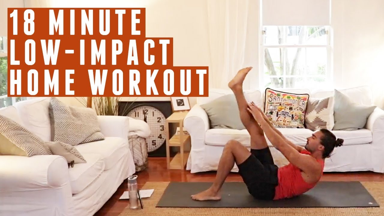 18 Minute Low Impact Home Workout | The Body Coach Part 85