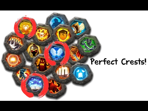 Castle Clash: Setting Up Crests For Heros