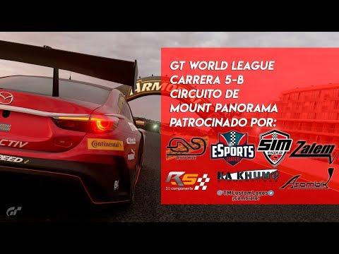 🏆 GT WORLD LEAGUE 🏆 Carrera 5 - B  | Circuito de Mount Panorama | Gran Turismo Sport PS4🔴 thumbnail