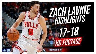 Bulls SG Zach LaVine 2017-2018 Season Highlights ᴴᴰ